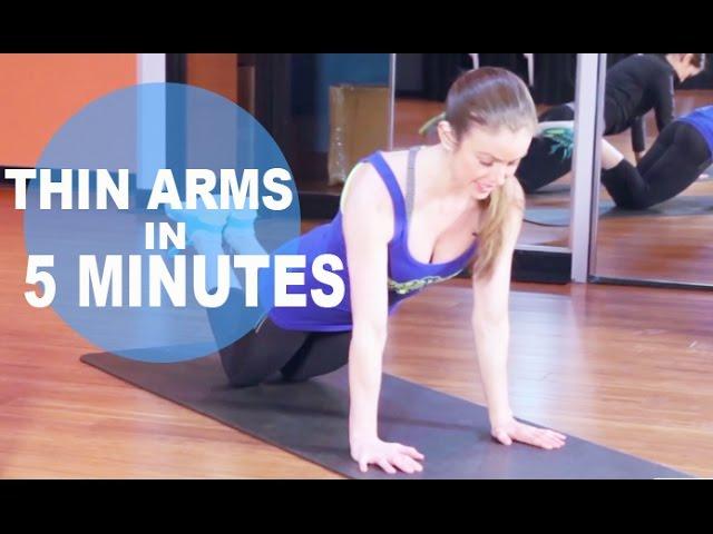 kuidas slim down ja tone arms