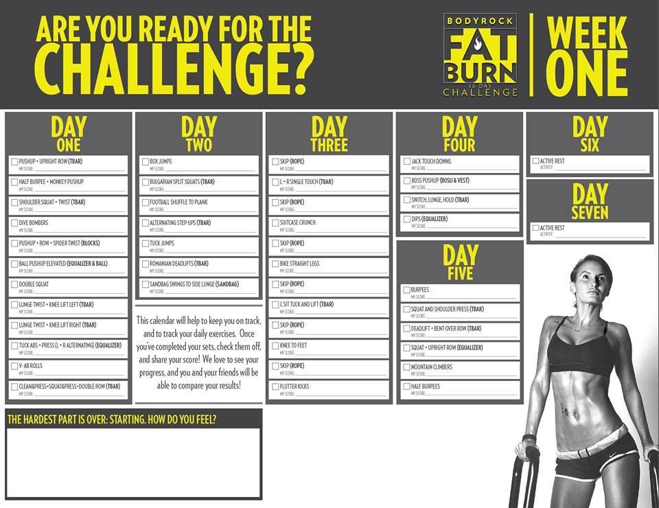 bodyrock fat burn challenge day 2 cwiczenia na rasva poletamine