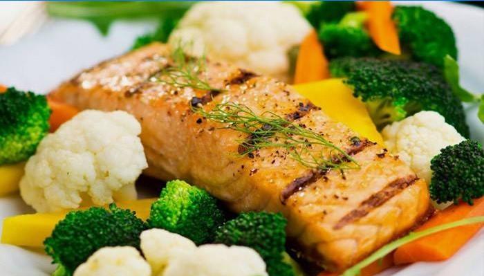 kaalulangus veg retsept toidud rasva purustamiseks
