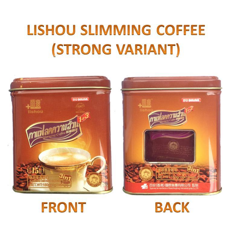 lishou slimming kohvi ulevaateid