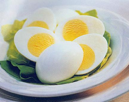 kas keedetud munad poletavad rasva